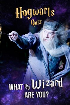 Hogwarts Quiz: Ever wonder what % Wizard you are? Answer these fun questions all about the wizarding world of Harry Potter and we'll determine just how much of a magical being you really are! Quiz Buzzfeed, Harry Potter trivia, HP Quiz, Harry Potter movies, wizarding world, Hogwarts Quiz What percent wizard are you?