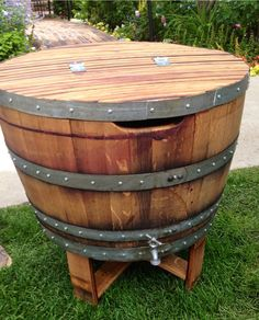 Napa Wine Barrel Ice Chest by alpinewinedesign on Etsy