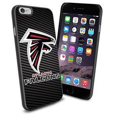 Atlanta Falcons Team Carbon Fiber BG Design Logo iPhone 6 Cool Case Cover Protector SURIYAN http://www.amazon.com/dp/B00VGEWUL6/ref=cm_sw_r_pi_dp_tjhwvb1H427AR