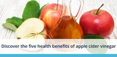 Five health reasons why you should be having apple cider vinegar.