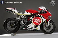 Mv Agusta F4 Lucky Strike by SAMUXX