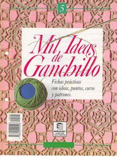 "lanes asgaya: REVISTA ""MIL IDEAS DE GANCHILLO 5"""