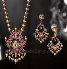 Jewellery Designs: Stylish Temple jewellery