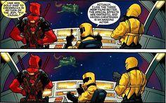 Deadpool arbeitet in den Comics auch mit Bösewichten zusammen (© Marvel)