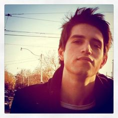 Cameron Leahy of The Downtown Fiction and, although he does not know it, my future husband. :)