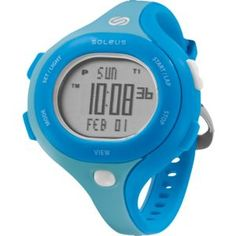 Soleus Chicked--Simple running watch.  Great colors!