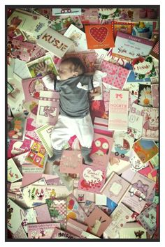 Bedankje voor de babykaartjes!
