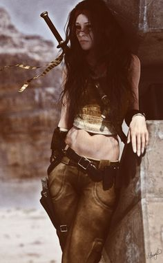 Desert Wind by Saidge42 costume cosplay female sword LARP   NOT OUR ART - Please…