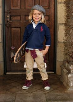 """ralphlauren: """" ralphlauren: """" Ralph Lauren Childrenswear """" Classic Faire Isle sweaters and fur trim will have your kids feeling cozy this fall. Explore Now """" Ralph Lauren Enfants, Ralph Lauren Kids, Baby Boy Outfits, Kids Outfits, Fashion Trends 2018, Preppy Boys, Preppy Style, Stylish Kids, Kid Styles"""