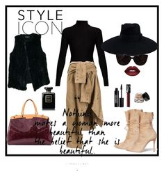"""#sexy#spy"" by zinka-kartinka ❤ liked on Polyvore featuring Alexander White, Acne Studios, Faith Connexion, Louis Vuitton, Nanette Lepore, Gucci, Tiffany & Co., NARS Cosmetics, Edward Bess and Bobbi Brown Cosmetics"