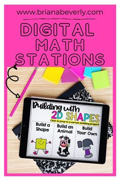 Math center organization and set up from the distance learning or in-person classroom. This math station rotation chart is perfect for creating a routine during your math block at the beginning of the year. You can also get this set in a digital template for the virtual classroom. Great for 2nd grade, 3rd grade, 1st grade, or 4th grade. Math Journal Prompts, Math Journals, Math Stations, Math Centers, Math Center Organization, Math Blocks, Choice Boards, Math Projects, Simple Math