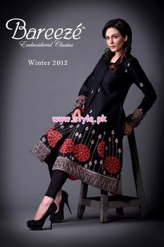 Bareeze Latest Winter Arrivals 2012-13 For Women