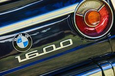 BMW Images by Jill Reger - Images of BMW - 1968 Bmw 1600 Cabriolet