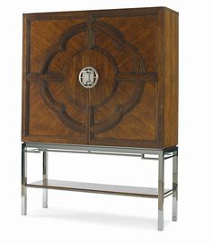 I absolutely love this bar cabinet. It comes in all sorts of finishes too!