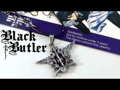 Black Butler Kuroshitsuji Necklace https://youtu.be/sQJ3OBDXrhc