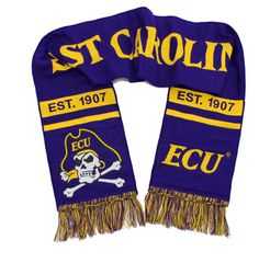 Show your team colors at a tailgate with collegiate scarves from Tradition Scarves.