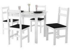 #239,90#APROVEITE#Conjunto de Mesa com 4 Cadeiras Milão - Fritz Móveis