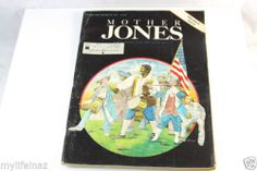 MOTHER JONES Magazine PREMIER ISSUE 1976 VOL 1 NUMBER 1