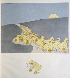 'Weißt Du wieviel Sternlein stehen?' by Gertrud I(ngeborg) Klett, 1928 illustrated by Leo Kainradl (1872-1943)
