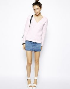 Quilted sweatshirt- laid back stylish, love the pink, on sale