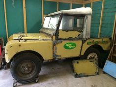 Land Rover Series one 80 inch 1949