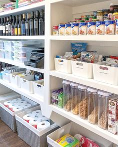 Kitchen pantry will provide you with a better experience in cooking and here are cool kitchen pantry ideas to guide you create stunning kitchen pantry. organization pantry 17 Kitchen Pantry Ideas (Enlarging Your Space)