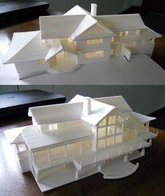 #3D #Printed House Model! - Kijk ook eens op www.r3dy.nl waarmee 3D printen jou kan helpen!