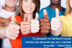 """¡Feliz Día del Estudiante a todos los que forman parte de National University College Online!  """"La educación no cambia el mundo, cambia a las personas que van a cambiar el mundo"""". - Paulo Freire"""""""