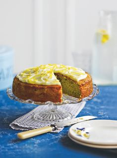 Courgette and lemon give this cake a fresh zingy taste. Find the recipe here http://magazine.co-operativefood.co.uk/mayjun2014?page=25