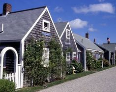 """Nantucket Island Homes"""