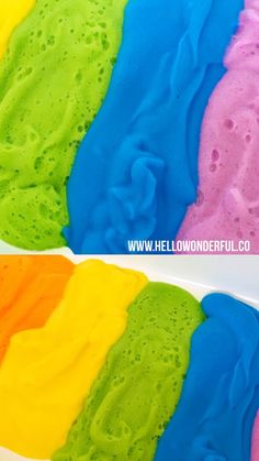 This rainbow soap foam sensory play is so a fun baby or toddler messy play activity! Babysitting Activities, Sensory Activities Toddlers, Infant Activities, Activities For Kids, Motor Activities, Baby Sensory Play, Baby Play, Fun Baby, Sensory Rooms