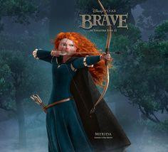 Merida - Brave. One of my three favourite Disney princesses