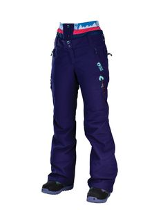 Picture Organic Clothing Ladies Ski Snowboarding Pants Palace Purple | f riders inc