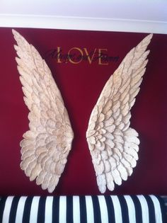 Angel wings at mcwdesigns.com hand made by Michelle Carmichael-Whyte