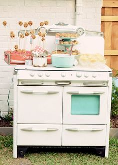 Bun in the Oven Baby Shower - check out our rentals @  facebook.com/golddustvintagerentals