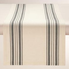One of my favorite discoveries at WorldMarket.com: Black Villa Stripe Table Runner