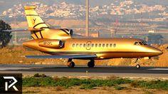 Jets Privés De Luxe, Luxury Jets, Luxury Private Jets, Private Plane, Luxury Yachts, Mclaren Mercedes, Mercedes Slr, Gold Mercedes, Rolls Royce Phantom