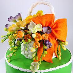 Tortas - tortas de Viorica: Tortas con flores