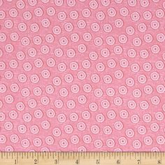 Riley Blake Tree Party Mini Floral Pink from @fabricdotcom  Designed by Kelly Panacci for Riley Blake, this cotton print is perfect for quilting, apparel and home decor accents. Colors include shades of pink.