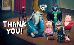 Sing movie different charakters furries pictures