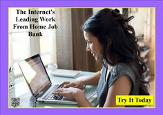 The Internet's Leading Work From Home Job Bank http://9a280vv7yj32elcgqasbpycr3w.hop.clickbank.net/?tid=ATKNP1023