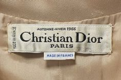 A Close Look at the Stitching Inside 2 Dior Garments - Threads