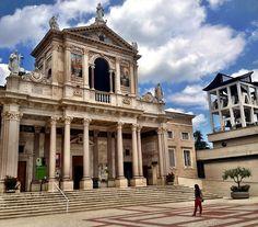This is the beautiful Sanctuary of St. Gabriel at theIsola Del Gran Sasso D'Italia in Abruzzo    photo: Giovanni Dezio
