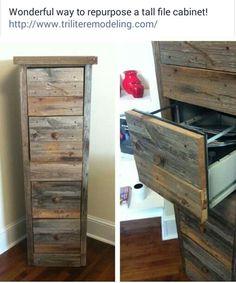 Exceptional File Cabinet Makeover U2026