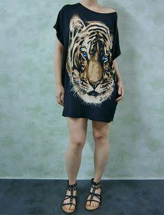 Vestido animal print www.patuspies.es