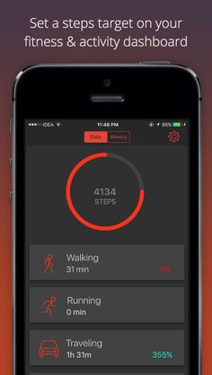 Fit Time is your fitness & activity dashboard. Set a daily steps target and achieve it to stay fit. Quantified Self, Fitness Activities, You Fitness, Stay Fit, Monitor, Health, Keep Fit, Health Care, Salud