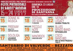 Feste Patronali di Sant'Anna  Rezzato  http://www.panesalamina.com/2017/57074-feste-patronali-di-santanna-rezzato.html