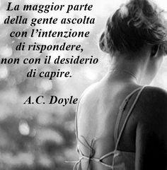 Ascoltare e capire - C. Doyle