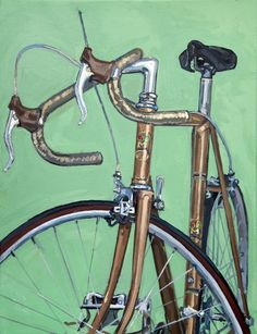 Bicycle Paintings, Prints and Custom Bike Art Portraits Old Bicycle, Bicycle Art, Bike Sketch, Gifts For Sports Fans, Bicycle Painting, Paint Photography, Buy Bike, Cycling Art, Road Cycling