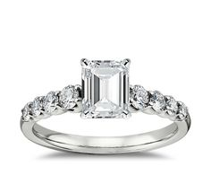 Good-cut, F-color, VVS1-clarity, Emerald Cut, 1.53-carat Diamond. Stock #: LD04338543$9,413 Graduated Side Stone Diamond Engagement Ring in 14k White Gold (1/2 ct. tw.)Graduated Side Stone Diamond Engagement Ring in 14k White Gold (1/2 ct. tw.). Stock #: 25646$1,560